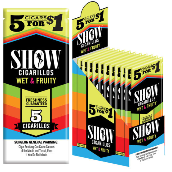 Show Cigarillos 5 For $1