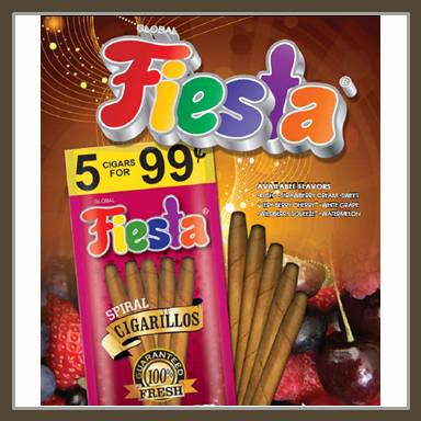 Fiesta Cigarillos 5 For $1