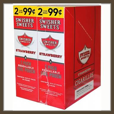 Swisher Cigarillos 2 For $0.99