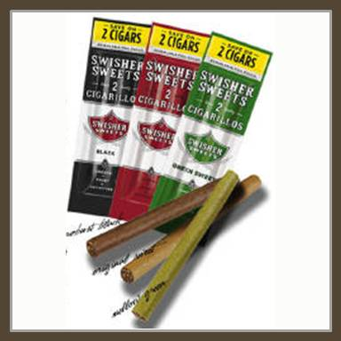 Swisher Sweet Cigarillos 2 Pack