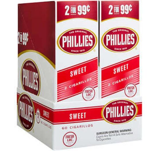 Phillies Cigarillos 2 For 99 Cigars