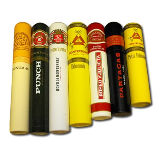 Cigars in Tubes